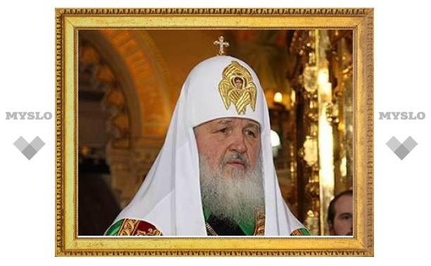 Патриарх Кирилл надеется на расширение сотрудничества с Еврокомиссией