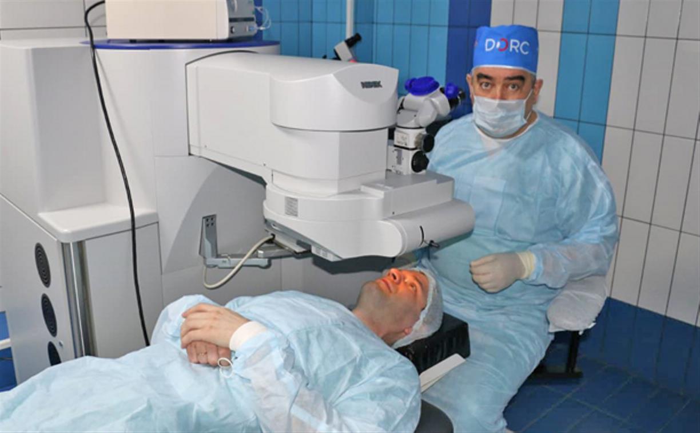 В тульской Клинике микрохирургии глаза «ВЗГЛЯД®» установлен новый эксимерный лазер последней модели