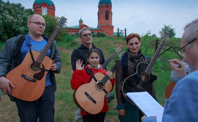 На Куликовом поле прошел фестиваль авторской песни