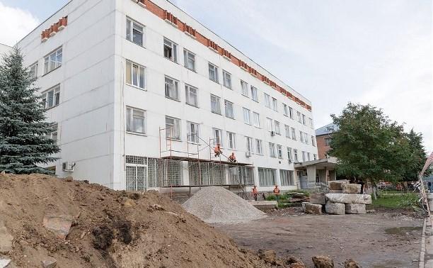 Детская поликлиника №3 в Туле временно переехала с ул. Оборонной на ул. Кауля