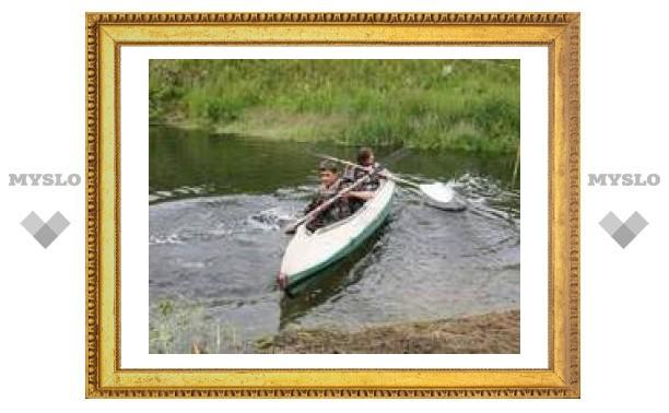 На фестивале под Тулой люди ходили по воде