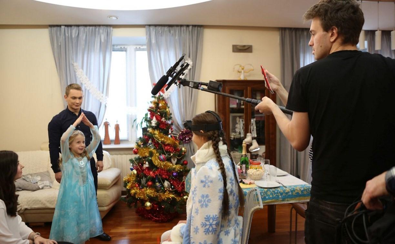 Тульская семья снялась в фильме «Ёлки новые»