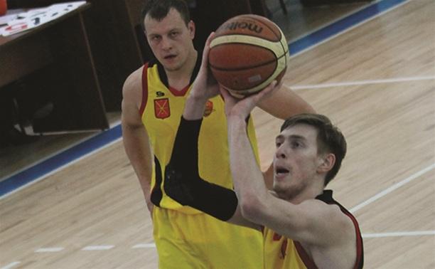 Баскетболисты «Тулы» поделили очки с командой из Рязани
