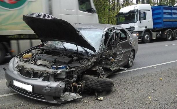 На трассе «Дон» водитель МАЗа погиб после столкновения с «Тойотой Камри»