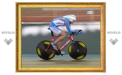 Тульский велосипедист Николай Журкин выиграл золото