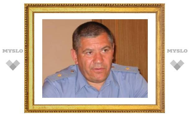 Начальник УВД Тульской области решил уйти в отставку (ФОТО)