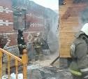В Плеханово в цыганском поселении загорелись дома