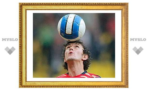 Жирков признан лучшим футболистом страны 2008 года