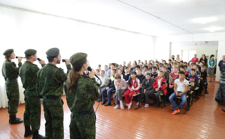 Сотрудники тульской Росгвардии провели благотворительный концерт для детей
