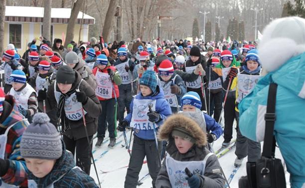 В гонке «Лыжня России – 2014» приняли участие три тысячи туляков