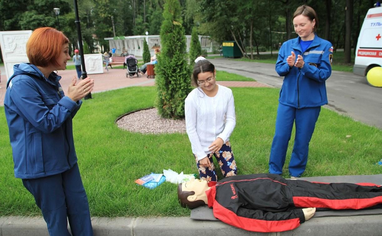 12 сентября учеников и студентов научат оказывать первую помощь