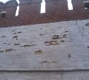 В Тульском кремле осыпалась стена
