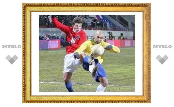 Сборная России отказалась от матча с командой Бразилии