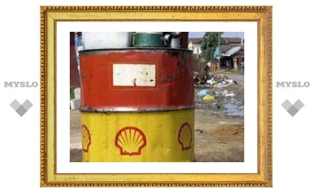 Shell резко снизила производство нефти в Нигерии из-за аварии