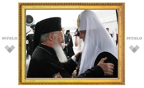 Патриарх Константинопольский Варфоломей прибыл в Москву