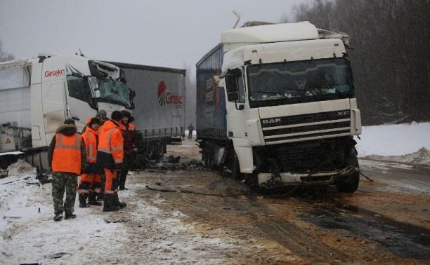 В январе на дорогах Тульской области возросло количество аварий