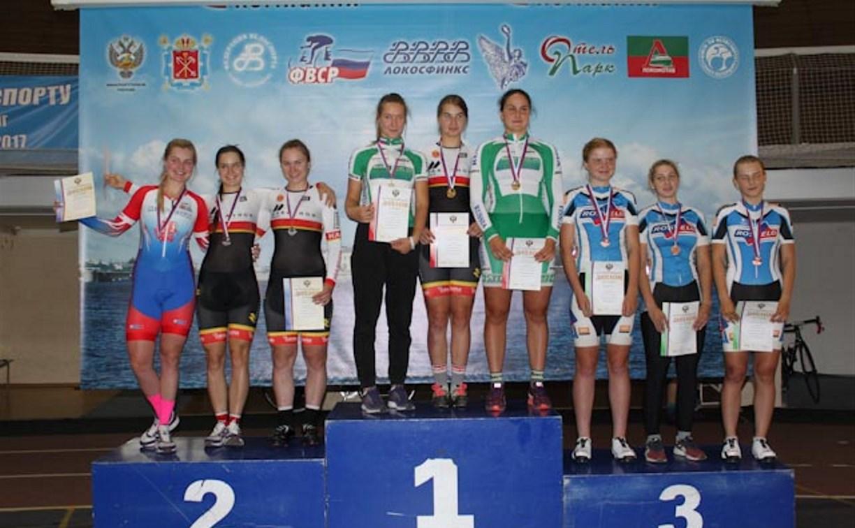 Тульские велосипедисты завоевали медали на первенстве России