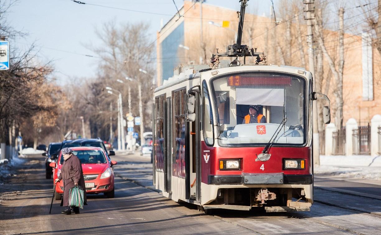 В выходные в Туле трамваи изменят маршрут