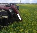 На трассе «Тула-Новомосковск» машина на скорости съехала в кювет и перевернулась
