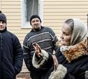 Из-за пожара тульская семья живет в сарае