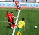 Новомосковский «Химик» одержал первую победу в первенстве страны