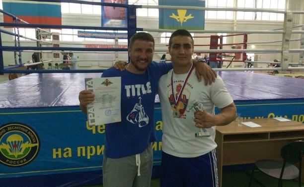 Тульский боксер завоевал серебро на открытом чемпионате Вооружённых сил РФ