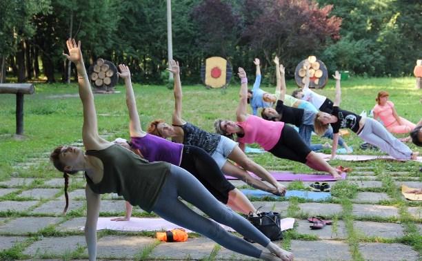 21 июня в Центральном парке Тулы пройдет День йоги
