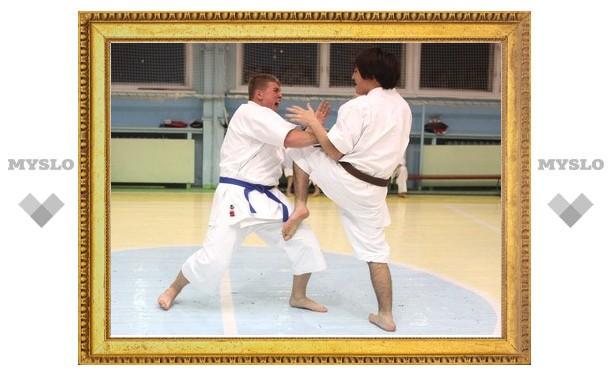 Тульские каратисты завоевали 51 медаль в Брянске