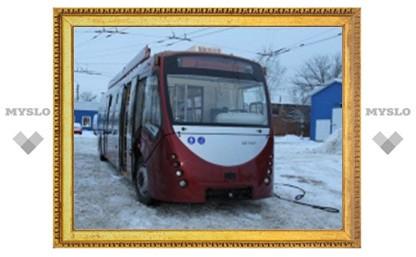 С 1 февраля по Туле ездят 10 низкопольных троллейбусов