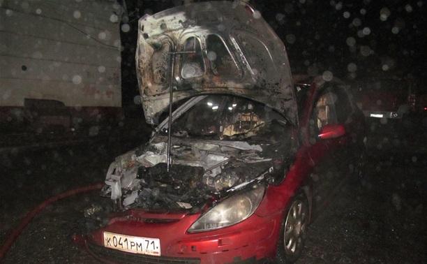 На ул. Кирова ночью сгорел «Пежо»