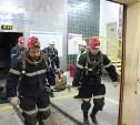 В Новомосковске прошли учения МЧС по ликвидации последствий аварий в шахтах