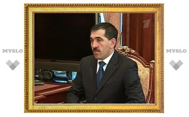 Покушение на президента Ингушетии совершил террорист-смертник