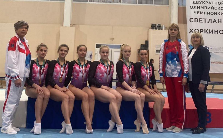 Тульские гимнастки стали лучшими на чемпионате ЦФО