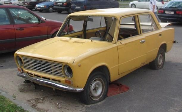 Житель Новомосковска украл сломанный автомобиль