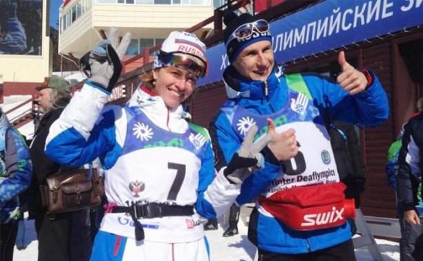 Уроженка Тулы Анна Федулова выиграла золото Сурдлимпийских игр