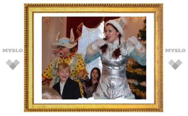Юных туляков приглашают в театр кукол