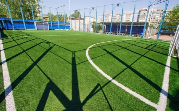 В Тульской области появятся 25 мини-футбольных полей