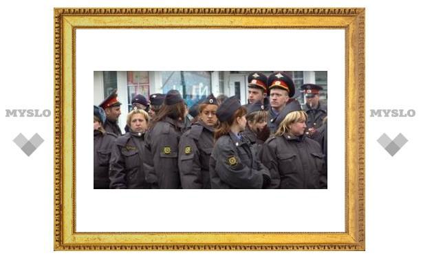 Милиционеры перейдут на усиленный режим