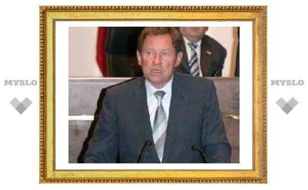 """В Туле министру показали """"очистные"""""""