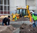 Как идет ремонт сквера 80-летия обороны Тулы