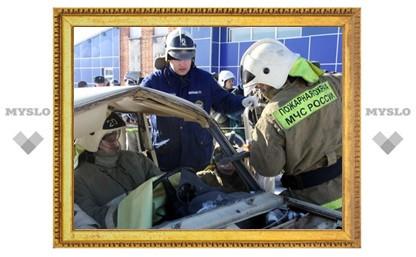 В Туле выбрали лучшую команду спасателей
