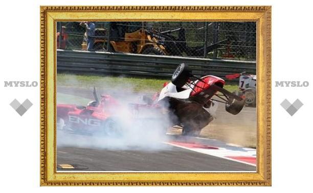 Российский гонщик занял второе место в гонке Формулы-2