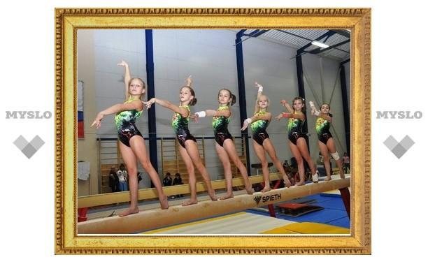 Тулячки собрали почти все золото по спортивной гимнастике