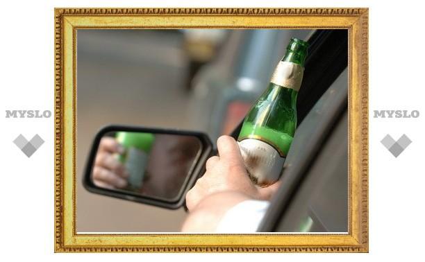 Тульские гаишники за неделю поймали 164 пьяных водителя
