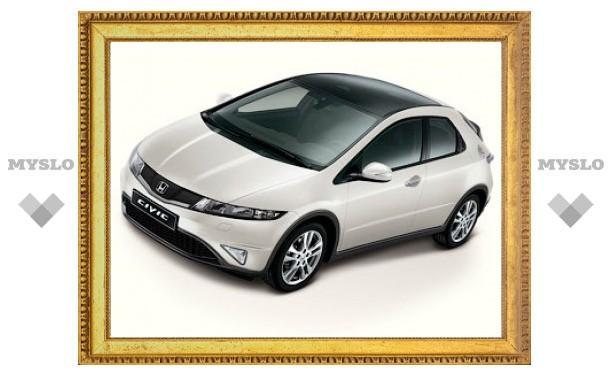 В России обновленный Honda Civic сделали похожим на Type-R