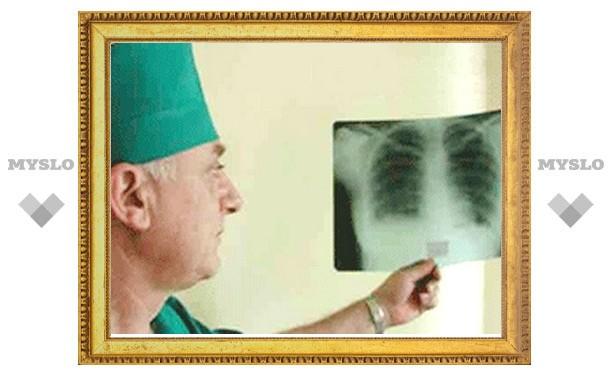 За год тысяча жителей области заболели туберкулезом