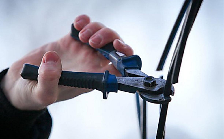 В Узловой подростков поймали на краже кабеля со станции сотовой связи