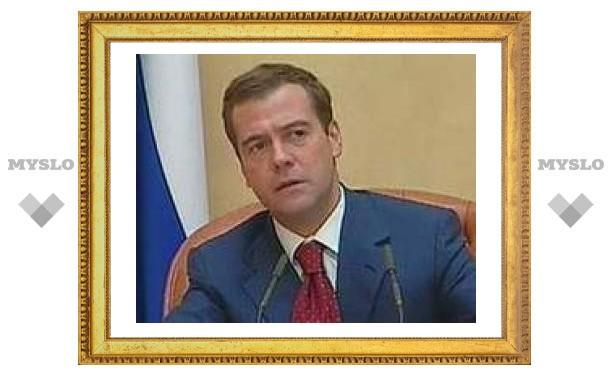Дмитрий Медведев приехал газифицировать Тулу?