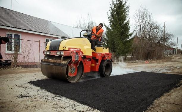 За неделю в Туле отремонтировали 264 кв. м дорог