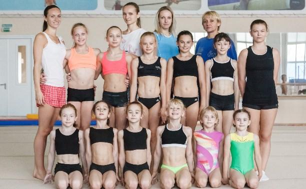 Тульские гимнастки поедут на соревнования в Брянск